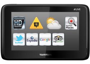 Tomtom Go Live 1015 Navigationssystem foto  tomtom