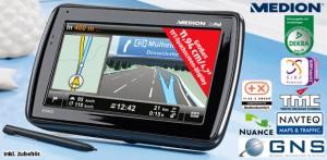 Jetzt bei Aldi: mobiles Navigationssystem Medion GoPal E5455