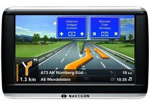 Navigon 42plus Navigationssystem