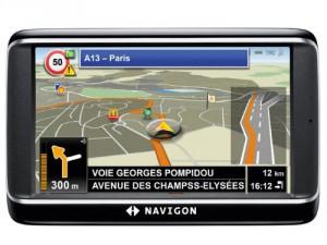Das mobile Navigationsgerät Navigon 40 Premium