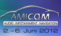 Logo der Fachmesse AMICOM