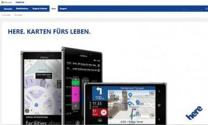 Kartendienst Nokia HERE App für Android Smartphones verfügbar